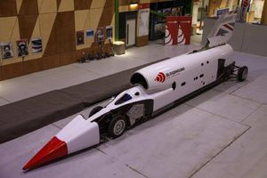 This supersonic car will try