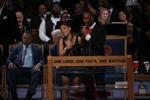Aretha Franklin funeral bishop
