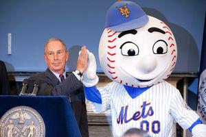 Mr. Met to help open Bloomberg