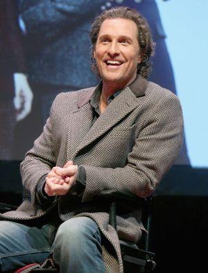 Matthew McConaughey Clears the