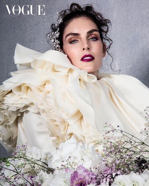 Hilary Rhoda is in Full Bloom