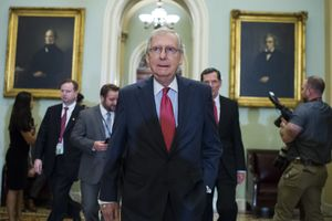 Protesters Confront Mitch