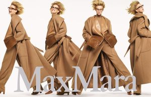 Models Get Moving in Max Mara