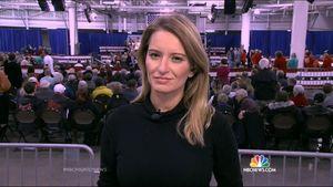 MSNBC Anchor Katy Tur Returns