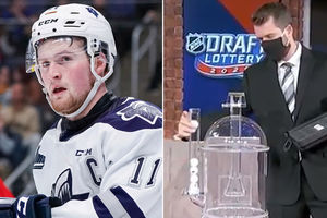 NHL Draft lottery blooper