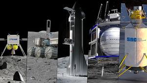 NASA Picks SpaceX, Blue Origin
