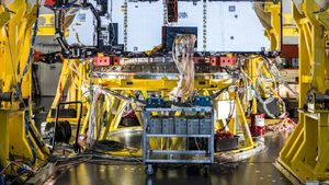 James Webb Space Telescope hit