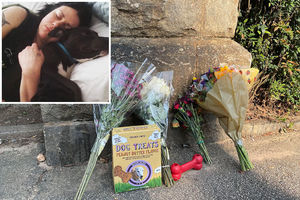 Woman and her dog fatally
