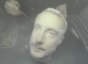 3D Printed Head Fools Android