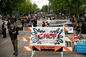 Seattle demonstrators can't