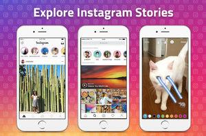 Instagram Stories fights