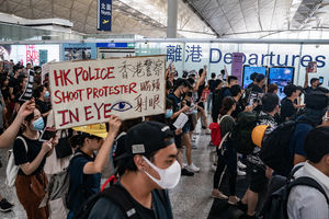 Hong Kong protests play into
