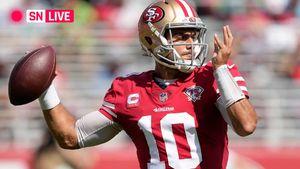 49ers vs. Colts live score,