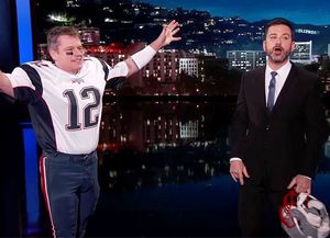 Jimmy Kimmel Boots Matt Damon