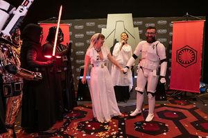 'Star Wars' Fans Got Married