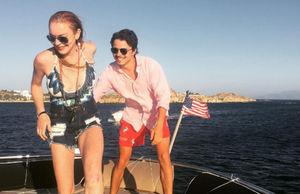 Lindsay Lohan and Fiancé