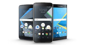 BlackBerry DTEK60 official: