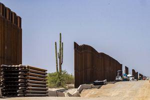 Donald Trump's border wall is