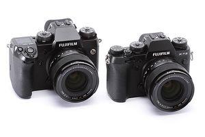 Fujifilm X-H1 versus X-T2: