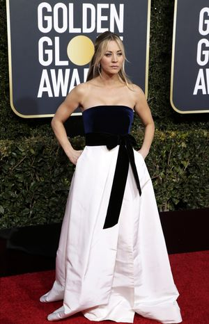 Golden Globes: Kaley Cuoco