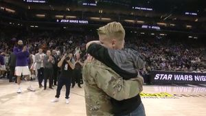 Watch: Soldier Comes Home to