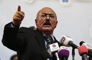 Former Yemeni President Ali