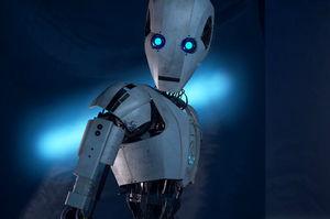 Bloodthirsty robot, gore,