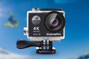 This 4K action camera will