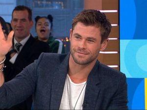 WATCH: Chris Hemsworth talks