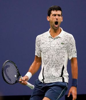 Novak Djokovic cruises past