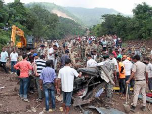 Rescuers pull out 46 bodies