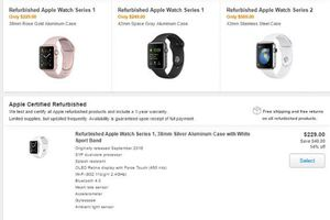 Apple now offering refurbished