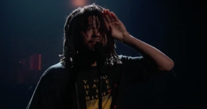 J. Cole performs 'Friends' at