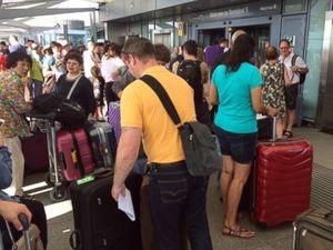 Angry BA passengers still face