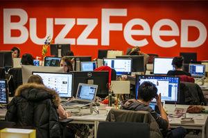 Buzzfeed's revenue to fall