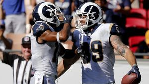 Rams tight ends are starting