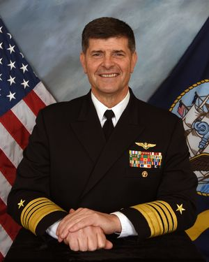 Navy's choice to head