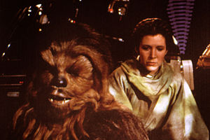 Chewbacca actor remembers