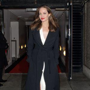 Angelina Jolie Wears a Classic