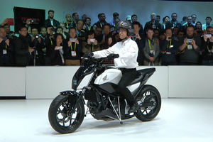 New Honda Motorcycle That Won T Fall Over