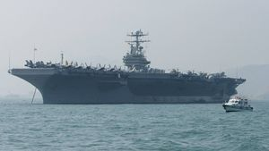 US sends aircraft carrier and
