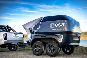 The ESA teamed with Nissan to