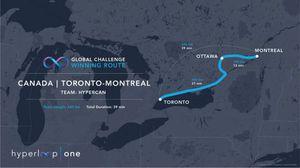 Proposed Hyperloop Route