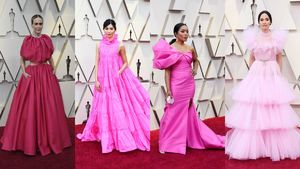 The Oscars Red Carpet Was Very
