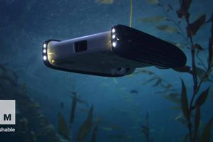 This low-cost underwater drone
