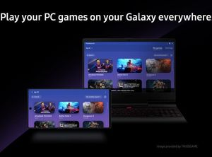Samsung PlayGalaxy Link game