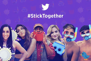 Twitter's promoted stickers