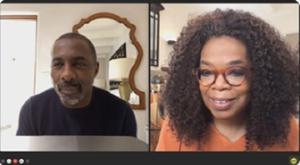 Oprah Winfrey Interviews Idris