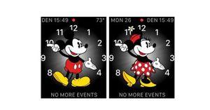 watchOS 3: Mickey and Minnie