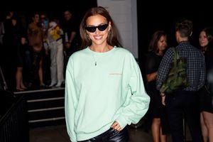 Irina Shayk thriving at NYFW